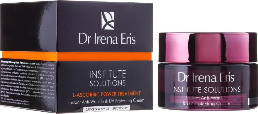 Anti-Falten Tagescreme für das Gesicht mit Sonnenschutz SPF 30 - Dr Irena Eris Institute Solution L-ascorbic Power Treatment — Bild N1
