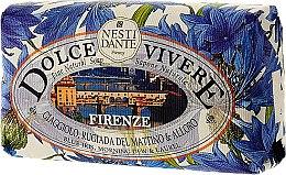 Düfte, Parfümerie und Kosmetik Naturseife Firenze - Nesti Dante Natural Soap Blue Iris, Morning Dew & Laurel Dolce Vivere Collection