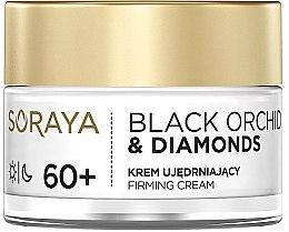 Düfte, Parfümerie und Kosmetik Straffende Gesichtscreme 60+ - Soraya Black Orchid & Diamonds 60+ Firming Cream