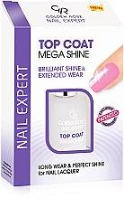 Düfte, Parfümerie und Kosmetik Langanhaltender und glänzender Nagelüberlack - Golden Rose Nail Expert Top Coat Mega Shine