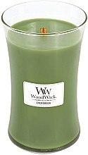 Düfte, Parfümerie und Kosmetik Duftkerze im Glas Evergreen - WoodWick Hourglass Candle Evergreen