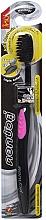 Düfte, Parfümerie und Kosmetik Antibakterielle Zahnbürste mit Aktivkohle rosa - Twin Lotus Bamboo Charcoal Toothbrush