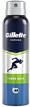 Düfte, Parfümerie und Kosmetik Deospray Antitranspirant - Gillette Power Rush Invisible Antiperpirant Spray