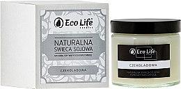 Düfte, Parfümerie und Kosmetik Soja-Duftkerze Chocolate - Eco Life Soy Wax Candles