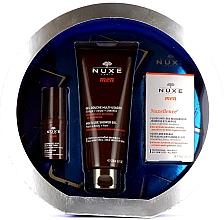 Düfte, Parfümerie und Kosmetik Gesichts- und Körperpflegeset für Männer - Nuxe Men Anti-Age (Anti-Aging Augencreme 15ml + Anti-Aging Gesichtsfluid 50ml + Duschgel 200ml)