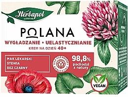 Glättende Anti-Aging Tagescreme mit Schlafmohn, Stevia und Holunder 40+ - Polana — Bild N2