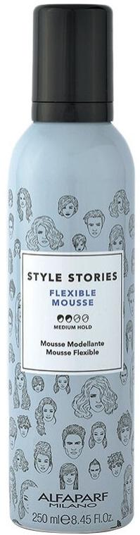 Schaumfestiger Mittlerer Halt - Alfaparf Style Stories Flexible Mousse Medium Hold — Bild N1