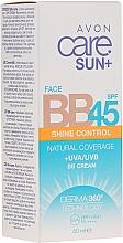 Düfte, Parfümerie und Kosmetik BB Creme mit Matteffekt SPF 45 - Avon Care Sun+ Shine Control Face BB Cream SPF45