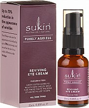 Düfte, Parfümerie und Kosmetik Regenerierende Augencreme für alle Hauttypen - Sukin Purely Ageless Reviving Eye Cream