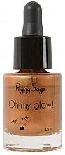 Düfte, Parfümerie und Kosmetik Flüssiger Gesichtsbronzer - Peggy Sage Oh my Glow! Liquid Bronzer