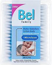 Düfte, Parfümerie und Kosmetik Wattestäbchen - Bel Family Cotton Buds