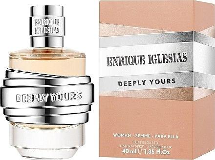 Enrique Iglesias Deeply Yours For Her - Eau de Toilette — Bild N1