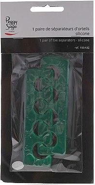 Pediküre Trenner grün - Peggy Sage — Bild N2