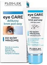 Düfte, Parfümerie und Kosmetik Augencreme für empfindliche Haut - Floslek Eye Care Mild Eye Cream For Sensitive Skin