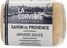 Düfte, Parfümerie und Kosmetik Naturseife Süßmandel - La Corvette Provence Sweet Almond