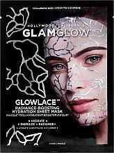 Düfte, Parfümerie und Kosmetik Erfrischende Tuchmaske für Gesicht mit Hyaluronsäure, Koffein und Grüntee - Glowlace Radiance-Boosting Hydration Sheet Mask