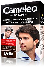 Anti-Grau Haarfarbe für Männer grau - Delia Cameleo Men Anti Grey Hair Color — Bild N3