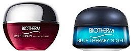 Düfte, Parfümerie und Kosmetik Gesichtspflegeset - Biotherm Mini Blue Therapy (Gesichtscreme 15ml + Gesichtscreme für die Nacht 15ml)