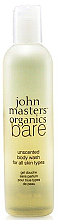 Düfte, Parfümerie und Kosmetik Duschgel - John Masters Organics Bare Unscented Body Wash