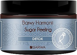 Düfte, Parfümerie und Kosmetik Entgiftende Zuckerpeeling - Barwa Harmony Sugar Peeling Detox