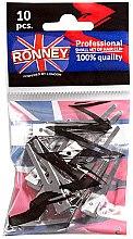 Düfte, Parfümerie und Kosmetik Professionelle Haarklammern 10 St. - Ronney Professional Small Set Of Hair Clip
