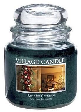 Duftkerze Home for Christmas - Village Candle Home for Christmas Glass Jar — Bild N1