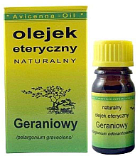 Düfte, Parfümerie und Kosmetik Ätherisches Öl Geranie - Avicenna Oil