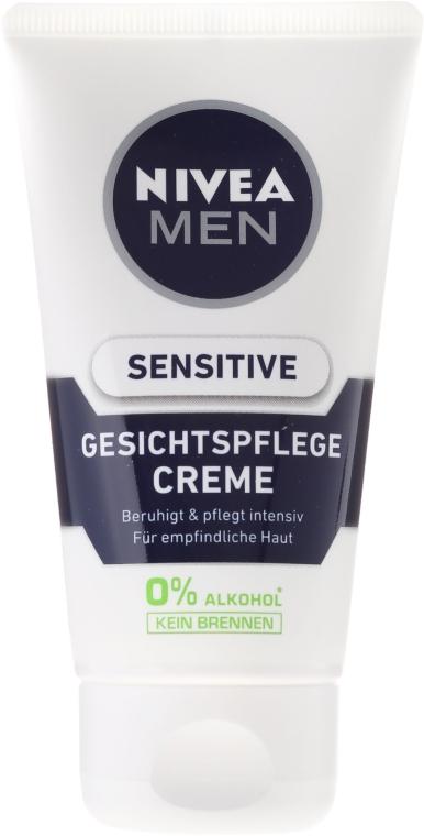 Beruhigende Gesichtscreme für empfindliche Haut - Nivea For Men Sensitive Soothing Cream — Bild N2