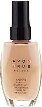 Düfte, Parfümerie und Kosmetik Beruhigende und mattierende Foundation - Avon True Colour Mattifying Foundation