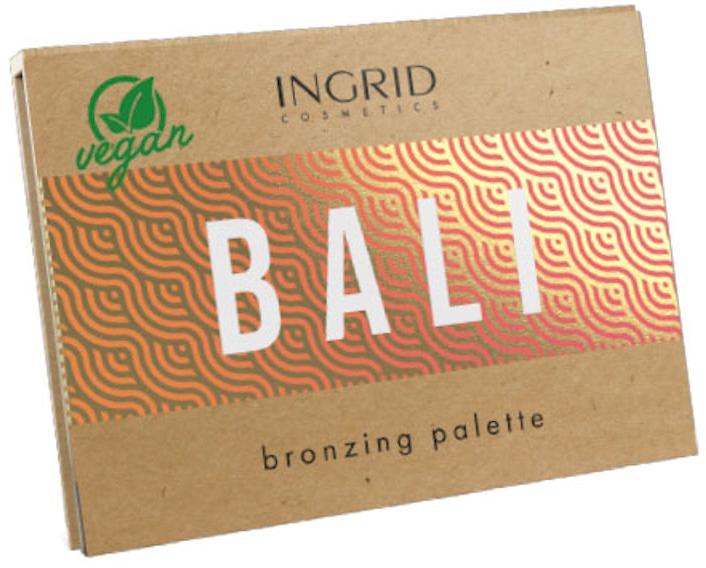 Bronzer-Palette - Ingrid Cosmetics Bali Bronzing Palette — Bild N1