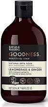 Düfte, Parfümerie und Kosmetik Natürlicher Badeschaum Lemongrass & Ginger - Baylis & Harding Goodness Lemongrass & Ginger Natural Bath Soak
