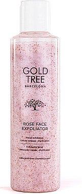 Reinigendes Gesichtspeeling - Gold Tree Barcelona Rose Face Exfoliation — Bild N1
