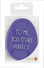 Düfte, Parfümerie und Kosmetik Entwirrbürste Tangle Definer hell lila - Beauty Look Tangle Definer Petite Violet