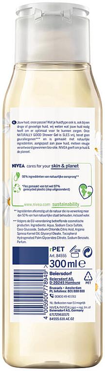 Duschgel mit Jasmin- und Kamillenduft - Nivea Naturally Good Jasmin & Chamomile Shower Gel — Bild N2