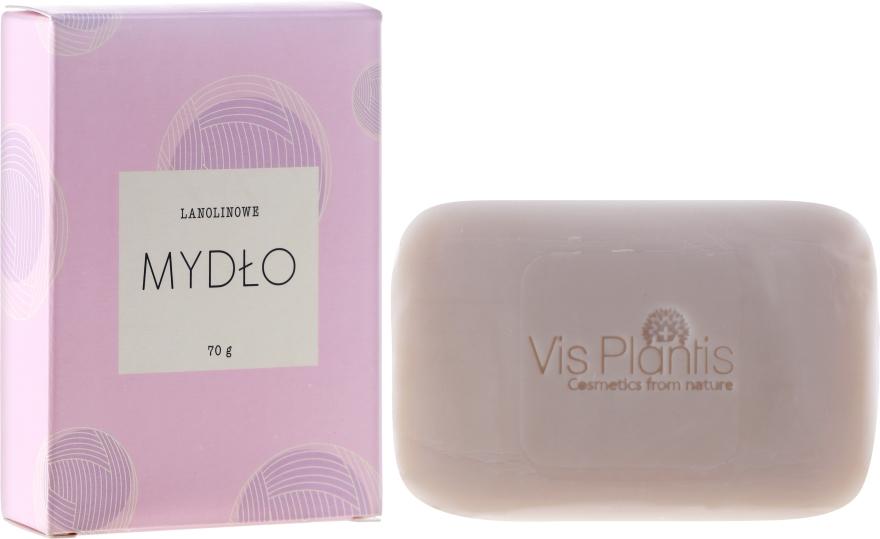 Seife für trockene und empfindliche Haut - Vis Plantis Soaps Lanolin Soap With Olive Oil For Face And Body Dry And Sensitive Skin — Bild N1