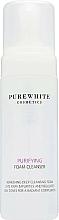 Düfte, Parfümerie und Kosmetik Erfrischender seboregulierender und porenverfeinernder Gesichtsreinigungsschaum - Pure White Cosmetics Purifying Foam Cleanser