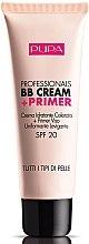 Düfte, Parfümerie und Kosmetik Feuchtigkeitsspendende BB Creme + Primer LSF 20 - Pupa Professionals BB Cream+Primer