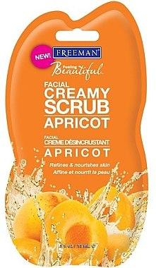 Gesichtscreme-Scrub mit Appricose für empfindliche Haut (Mini) - Freeman Feeling Beautiful Facial Creamy Scrub Apricot — Bild N1
