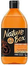 Düfte, Parfümerie und Kosmetik Duschgel mit kaltgepresstem Aprikosenöl - Nature Box Apricot Oil Shower Gel