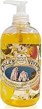 Düfte, Parfümerie und Kosmetik Flüssigseife Capri mit Basilikum, Mandarinensaft und Orangenblüten - Nesti Dante Dolce Vivere Capri Liqiud Soap