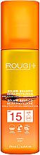 Düfte, Parfümerie und Kosmetik Zweiphasige Bräunungslotion SPF 15 - Rougj+ Two-Phase Sun Lotion Medium Protection With Tanning Activator SPF 15