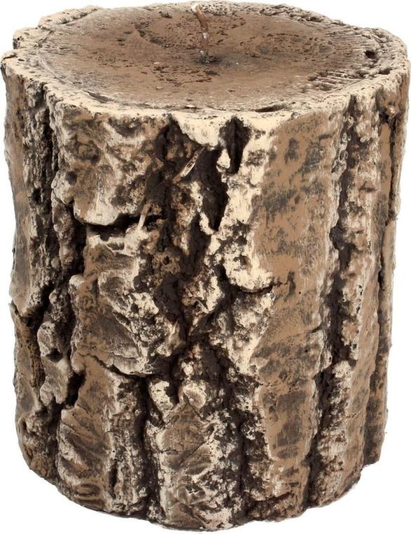 Dekorative Kerze Tree Stump - Artman Popular Candle Tree Stump Ø11.5xH13cm — Bild N1