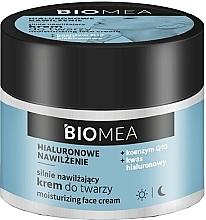 Düfte, Parfümerie und Kosmetik Feuchtigkeitsspendende Gesichtscreme mit Hyaluronsäure Q10 - Farmona Biomea Moisturizing Face Cream