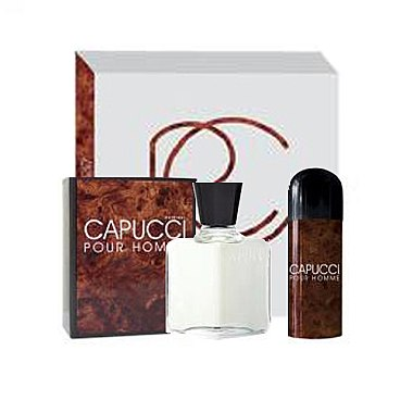 Roberto Capucci Capucci Pour Homme - Körperpflegeset (After Shave Lotion 100ml + Deodorant 150 ml) — Bild N1