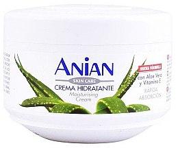 Düfte, Parfümerie und Kosmetik Feuchtigkeitsspendende Körpercreme mit Aloe Vera und Vitamin E - Anian Moisturizing Cream With Aloe Vera And Vitamin E