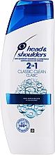 Düfte, Parfümerie und Kosmetik Revitalisierendes Shampoo mit Bio-Olivenöl - Head & Shoulders Clasic Clean 2in1 Shampoo