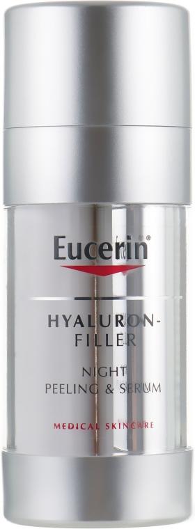 Regenerierendes Peeling-Serum für die Nacht mit Hyaluronsäure - Eucerin Hyaluron-Filler Night Peeling & Serum — Bild N2