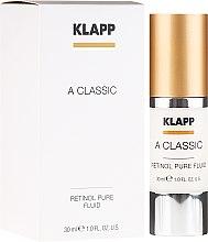 Düfte, Parfümerie und Kosmetik Hochdosiertes Vitamin A für straffe und vitale Haut - Klapp A Classic Retinol Pure Serum