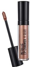 Düfte, Parfümerie und Kosmetik Lippenstift - Flormar Metallic Lip Charmer Glaze