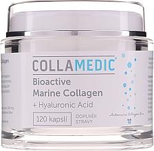 Düfte, Parfümerie und Kosmetik Nahrungsergänzungsmittel Hydrolysiertes Meereskollagen 1000 mg mit Hyaluronsäure für Haut, Haar und Nägel - Collamedic Bioactive Marine Collagen